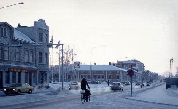 Talvipyöräilyn huumaa Oulussa
